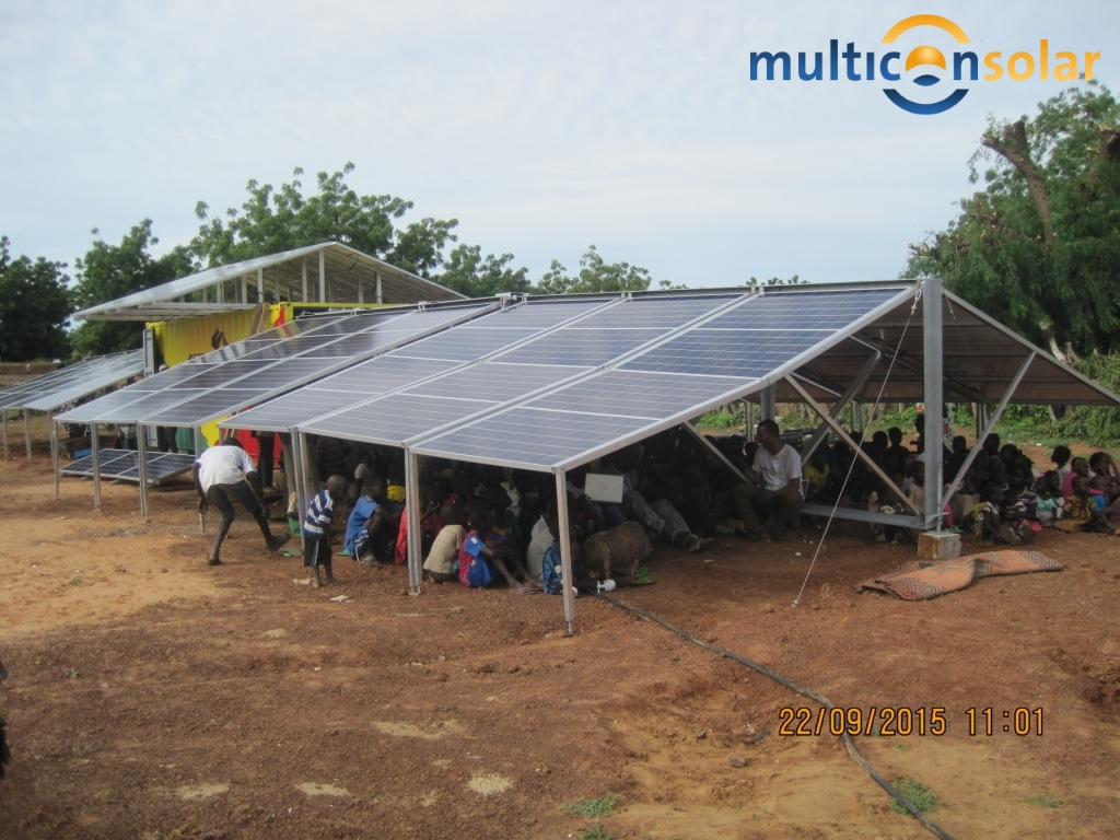 Multicon Solar Container für Mali