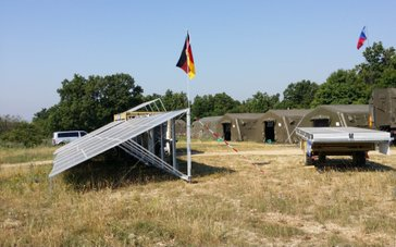 Solarcontainer NATO CL 15